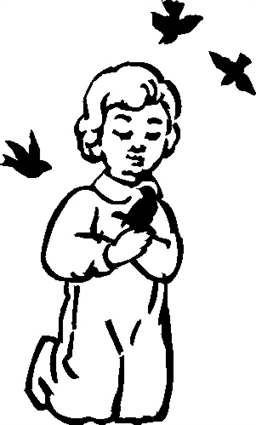 Boy with Birds