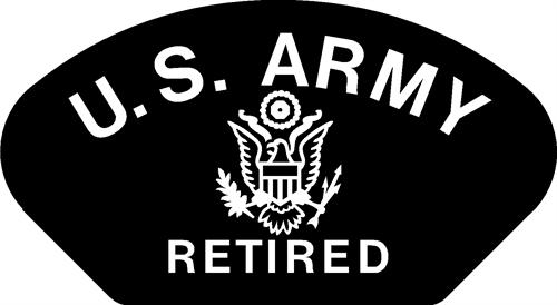 Army-Retired patch