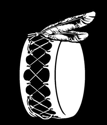 Drum w feathers