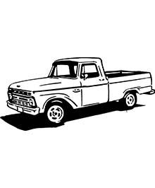 66' Ford F-150 Short Box